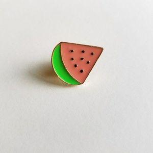 Accessories - Watermelon Enamel Pin